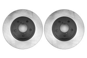 Centric Premium Brake Rotor Pair Front ( Part Number: 120.47012-GRP)