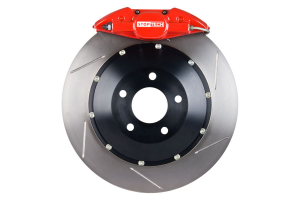 Stoptech ST-22 Big Brake Kit Rear 345mm Red Slotted Rotors (Part Number: )