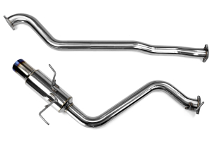 Invidia Titanium Tip Racing Cat Back Exhaust Single (Part Number: )