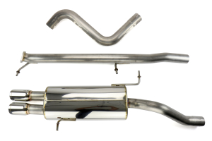 mountune High Flow Cat Back Exhaust System ( Part Number:MTN 2364-CBE-AB)