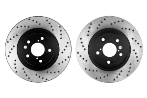 Stoptech Drilled Rotor Pair Front ( Part Number:STP 128.47021-GRP)