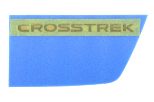 Subaru Black Crosstrek Badge (Part Number: )