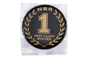 JDM Station Customs NBR Challenge SP3T Round Badge - Universal