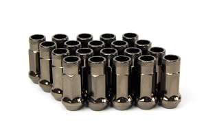 Muteki SR48 Chrome Titanium Open Ended Lug Nuts 12X1.25 (Part Number: )