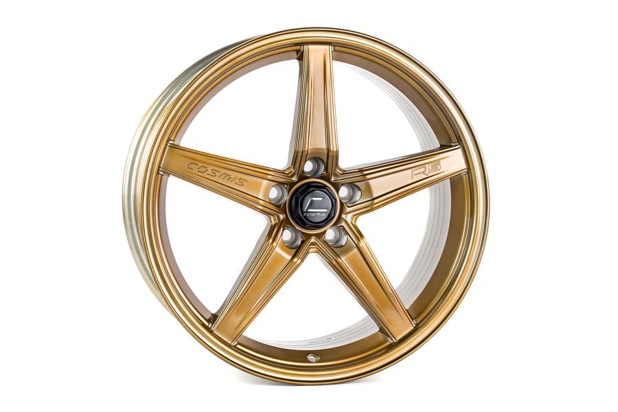 Cosmis Racing Wheels R5 18x8.5 +40 5x108 Hyper Bronze - Universal