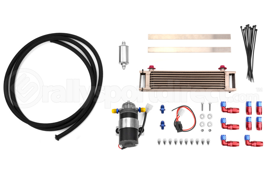 Cusco Transmission and Rear Differential Cooler Kit (Part Number:00B 013 A)