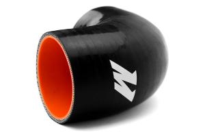 Mishimoto Silicone Elbow 90 Degree 2.5in Black - Universal