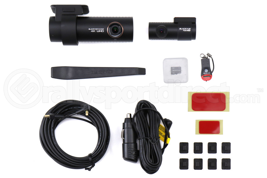 BlackVue DR900S 2 Channel 4k 16GB Front and Rear Dashcam - Universal