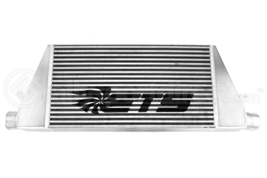 ETS Front Mount Intercooler Silver Core w/ Logo - Mitsubishi Evo 8/9 2003-2006