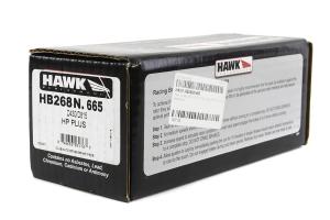 Hawk HP Plus Front Brake Pads  ( Part Number:HAW1 HB268N.665)
