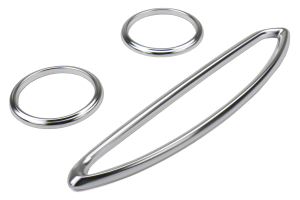GCS Anodized Aluminum A/C Vent Trim Silver - Scion FR-S 2013-2016 / Subaru BRZ 2013+ / Toyota 86 2017+