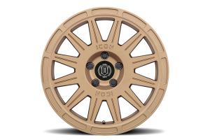 CrawfordSPEC Wheel by ICON Alloys 17x8 +38 5x114.3 Satin Gold - Universal