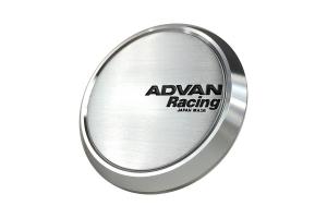Advan Racing Centercap 73 Flat Type Silver - Universal