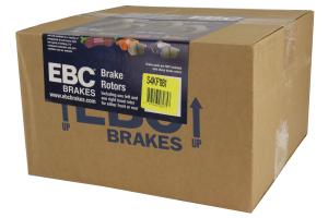 EBC Brakes S4 Front Brake Kit Redstuff Pads and USR rotors - Mazdaspeed3 2007-2013