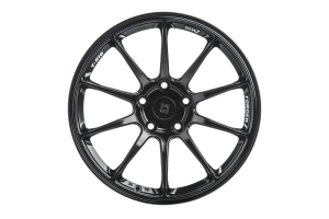 Titan 7 T-R10 18x10.5 +25 5x120 Machine Black - Universal