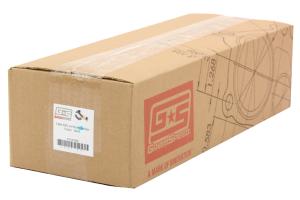 GrimmSpeed Ceramic Coated Black 44/45mm V-Band External Wastegate Uppipe 3-Bolt ( Part Number:GRM 007080)