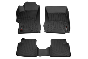 Weathertech Floorliner Black Front and Rear - Subaru Models (Inc. 2008-2014 WRX/STI )