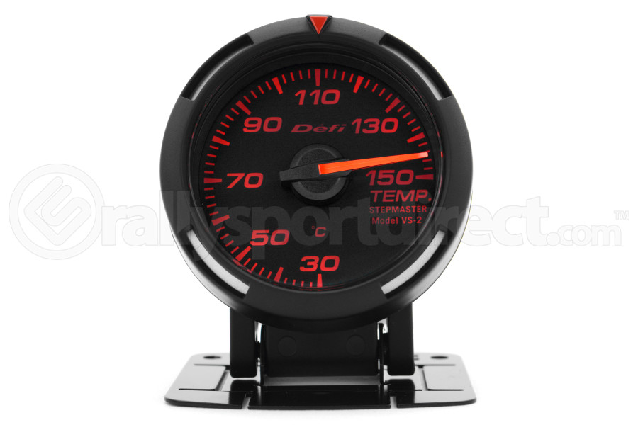Defi Red Racer Temperature Gauge Metric 52mm 30-150C (Part Number:DF06705)