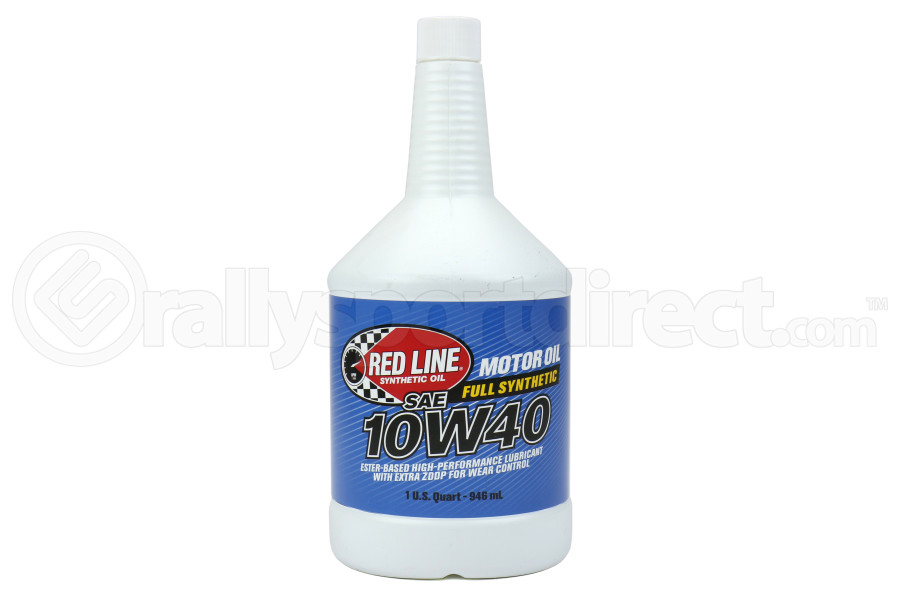 Red Line 10W40 Motor Oil 1QT (Part Number:11404)