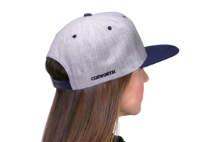Cosworth Patch Hat Grey Snap-Back (Part Number: )