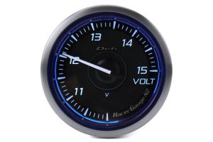 Defi DF Blue Racer N2 Volt Gauge 52mm - Universal