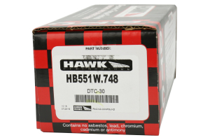 Hawk Performance Front Brake Pad Set (Part Number: )