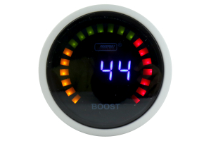 ProSport Digital Boost Gauge Electrical w/Sender Blue 52mm ( Part Number:PRS PSBOLCD-NEW)