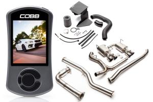 COBB Tuning Subaru Stage 2 + Big SF Power Package Titanium Non-Resonated - Subaru WRX 2015+