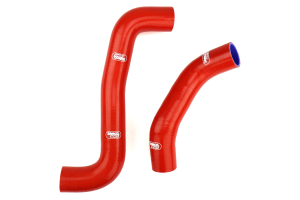 Samco Radiator Hose Kit Red - Subaru Models (inc. 2008+ STI / 2008-2014 WRX)