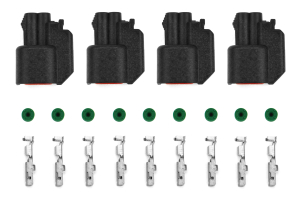 Injector Dynamics Fuel Injectors 1300cc w/ Top Feed Fuel Rails ( Part Number:IND 1300.18.01.48.14.4)