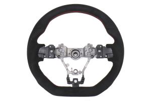 OLM Racer Alcantara Steering Wheel - Subaru WRX / STI 2015+