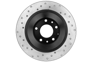 Stoptech Drilled Rear Left Rotor Single ( Part Number:STP 128.45074L)