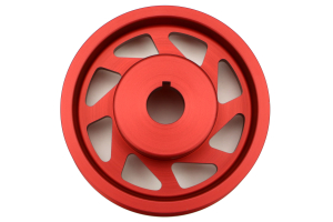 PERRIN Lightweight Crank Pulley Red ( Part Number:PER1 PSP-ENG-100RD)