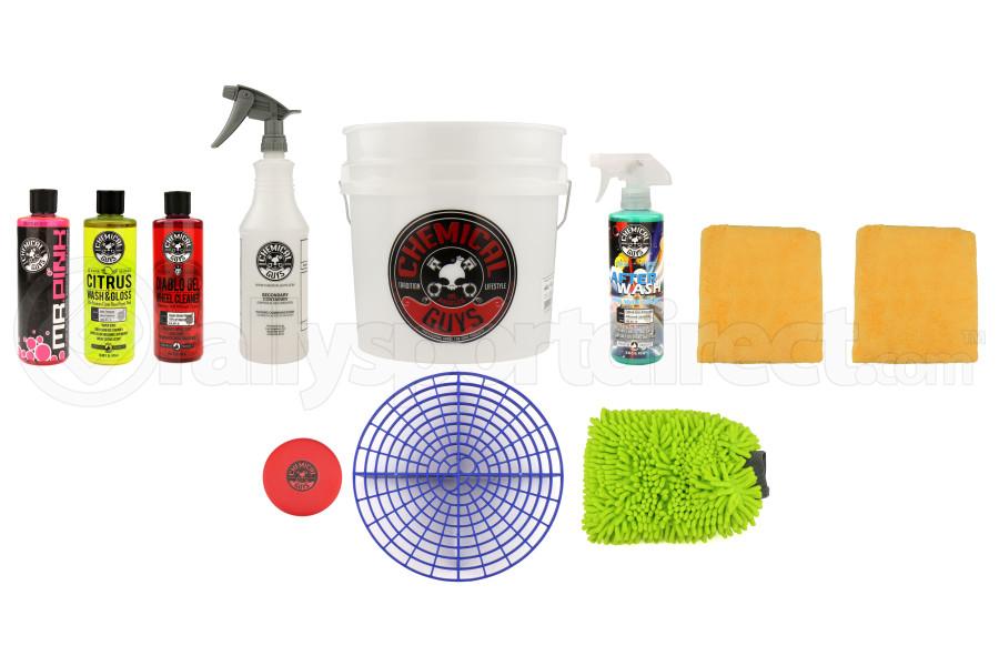 Chemical Guys Best Car Wash Bucket Kit (11pc) Blue - Universal