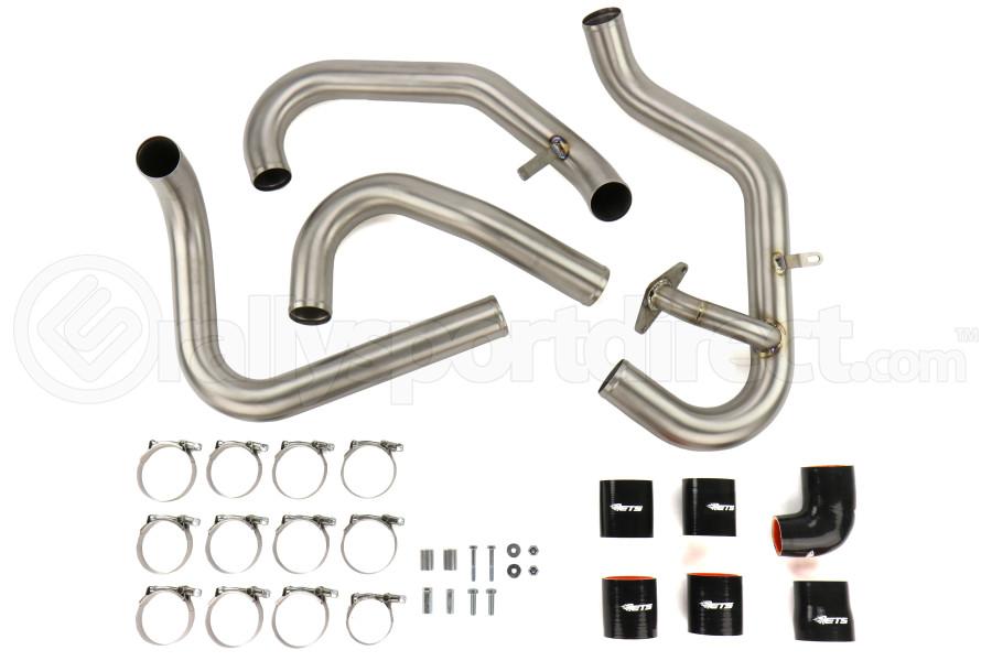 ETS Titanium Front Mount Intercooler Piping Kit Brushed Titanium - Subaru STI 2015 - 2020