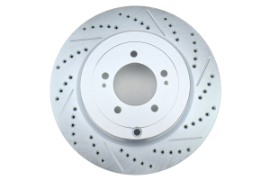 Stoptech C-Tek Sport Drilled and Slotted Rear Rotor Pair - Mitsubishi Evo X 2008-2015