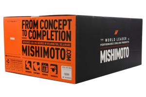 Mishimoto Silver Top Mount Intercooler w/ Blue Hose - Subaru WRX 2008-2014