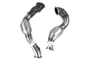 cp-e QKspl Bellmouth Downpipe Catted 3in (Part Number: )
