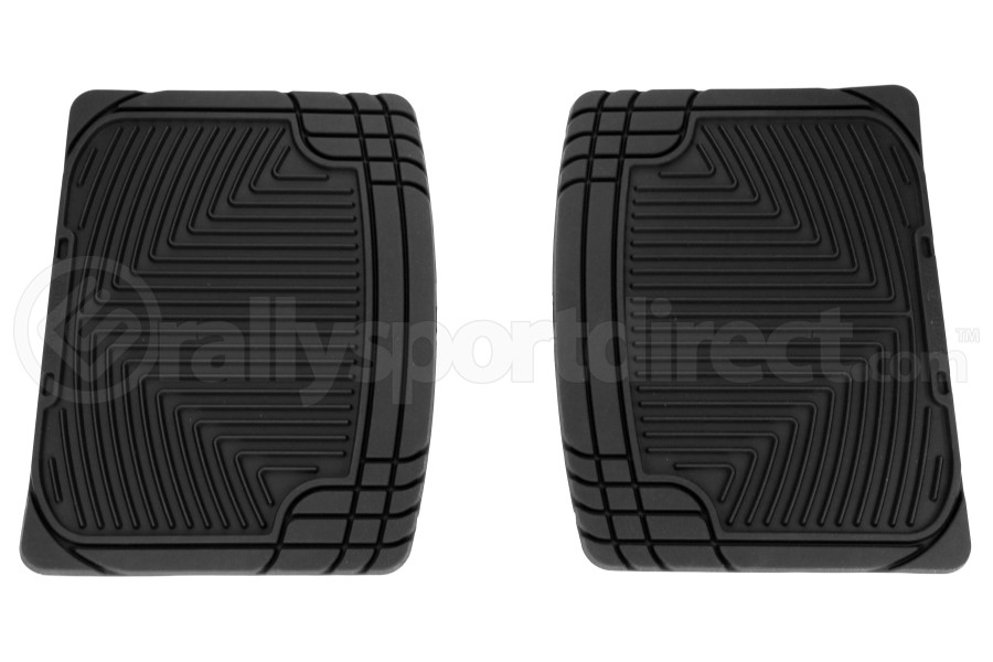 Weathertech Rubber Floor Mats Rear - Subaru Legacy 1990-2009 / Forester 1998-2008