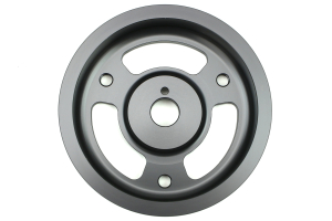 Grimmspeed Lightweight Crank Pulley Gunmetal ( Part Number:GRM 095025)
