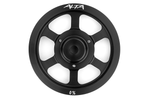 Alta Crank Pulley Black ( Part Number: AMP-ENG-500)