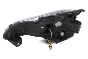 Spec-D LED Bar Pro Headlights Glossy Black - Scion FR-S 2013-2016 / Toyota 86 2017
