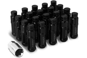 NRG Innovations Steel Lug Nut Set w/ Dust Cap Cover M12x1.5mm (Multiple Color Options) - Universal