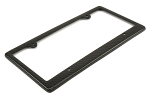 Seibon Carbon Fiber License Plate Frame 4 Holes - Universal
