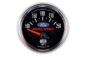 Autometer Ford Racing Water Temp Gauge Electrical 52mm - Universal