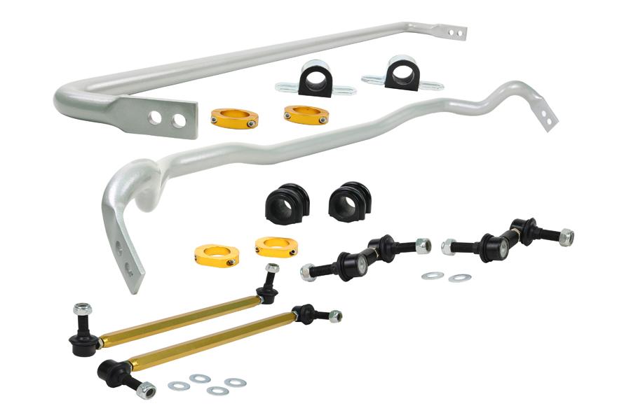 Whiteline Front and Rear Sway Bar Kit - Hyundai Genesis 2009-2016