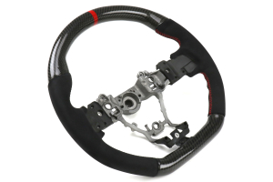 FactionFab Steering Wheel Carbon and Suede - Subaru WRX / STI 2015 - 2020