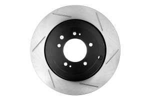 Stoptech Slotted Rear Left Rotor Single (Part Number: 126.46075SL)