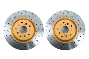 DBA 4000 Series Drilled/Slotted Rotor Pair Front ( Part Number:DBA 4654XSG)