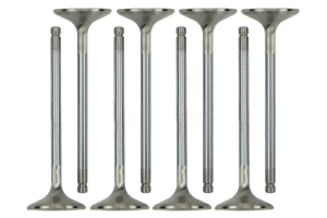 Manley Race Master Stainless Steel Exhaust +1mm Oversized Valves (Part Number: 11171-8)